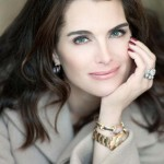 One of the most beautiful actresses of the time, Brooke Shields