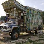 Karachi is a major city center for truck art.