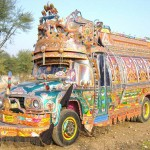 Painted truck in Pakistan