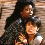 Whoopi Goldberg and Demi Moore in 1990 American romantic fantasy-thriller film Ghost