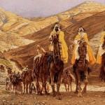 J. Tissot. Journey of the Magi