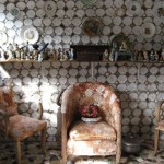 From top to bottom – all decorated with broken crockery