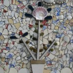 Seashells and broken crockery