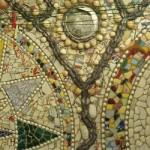 Closeup of mosaics