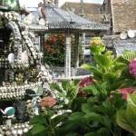 Garden sculpture and mosaics