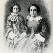 Little Sarah with her mother, Parisian courtesan