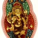 Dancing on Rat Lord Ganesha