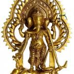 Vanquishing the Demon Lord Ganesha