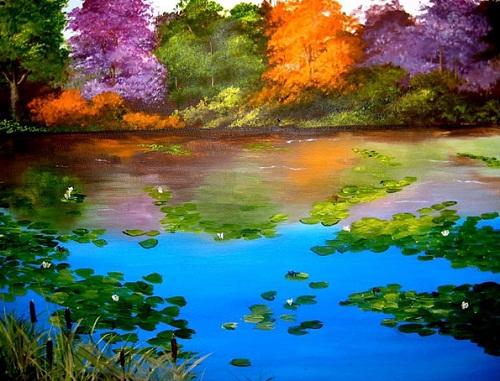 Michael Monaco's painting