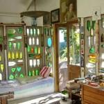 Art studio in New Zealand