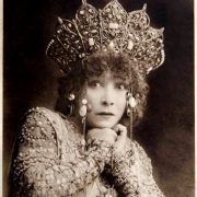 One of Iconic photos of Sarah Bernhardt as Theodora