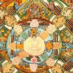 One of details of the Medicine Buddha