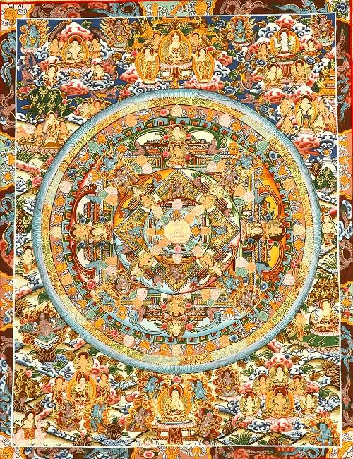 "The ""paradise of the Medicine Buddha"""