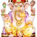 Porcelain lord Ganesha