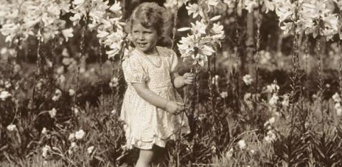 Aged 7, Princess Elizabeth