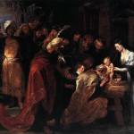 Rubens, 1634. Adoration of the Magi in paintings