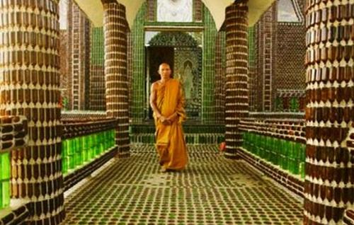 Temple of million bottles
