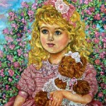 Yumi Sugai - A girl with the teddy bear