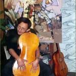 Contemporary artist Evgeny Kuznetsov