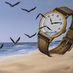 Time. Painting by Romanian artist Mihai Criste