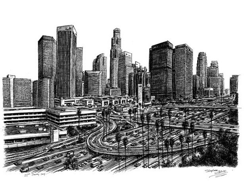 drawing by Stephen Wiltshire