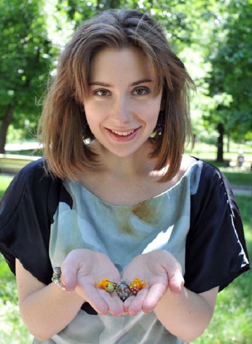 Fragile jewelry by Tatiana Semykina