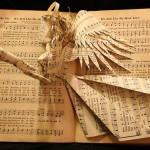 """""""Hymnal Angel Book Sculpture"""""""
