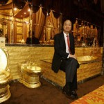 """Jewellery shop """"Golden House"""" of Hong Kong"""