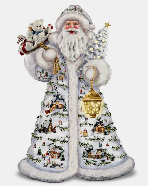Thomas Kinkade Christmas decoration