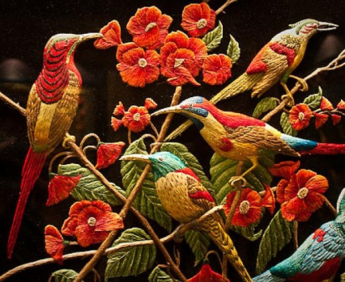 Beauty Will Save 3d Embroidery By Sheikh Shams Uddin