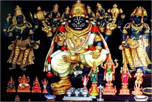 Namagiri, mathematician Srinivasa Ramanujan's family deity