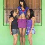Elisany da Cruz Silva, the tallest girl in the world