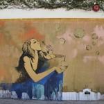 Bubbles. Los Angeles, Kalifornia, street artist Eduardo Kobra