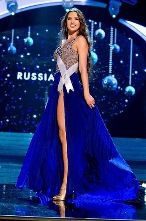 Miss Universe 2012 beautiful contestants. Elizaveta Golovanova, Russia