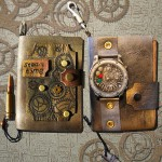 Two Steampunk Notebooks