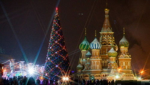 Kremlin Christmas tree traditions