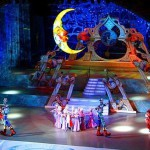 Christmas tale performance. New Year's day and Christmas celebration in Kremlin Palace