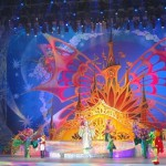 Performance at New Year's day and Christmas celebration in Kremlin Palace