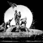 LA Flag. Banksy's Environmental Message