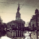 Reflections. London captured and edited on mobile phones, with smartphone app Instagram