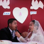 In Asia. Married on a once-a-millennium date 12-12-12