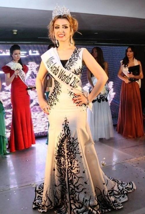 Nadine Fahd Miss Arab World
