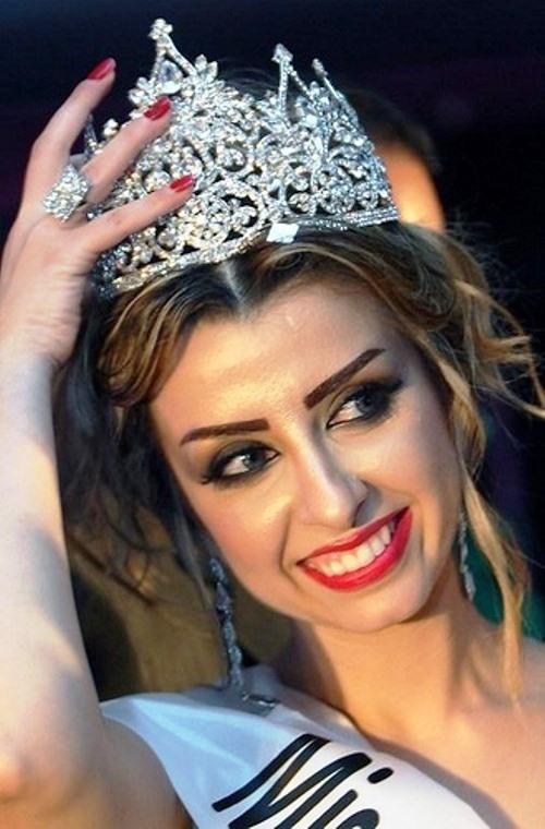 Nadine Fahd, Miss Arab World 2012