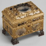 Necessaire incorporating an automaton watch, ca. 1770–72, signed by Cox