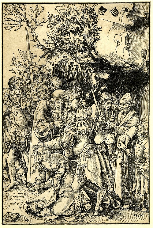 Print made by Lucas Cranach the Elder. Date 1505-1515 (c.)