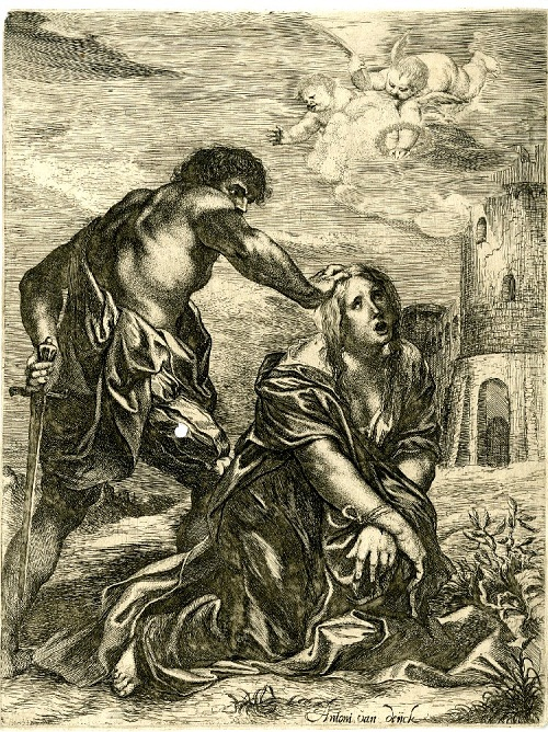 Print made by Willem Basse after Anthony van Dyck, 1628-1648