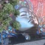 treet Art Mural by creative duo Elmac and Retna, Hollywood