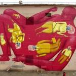 Street art in Odessa, Ukraine