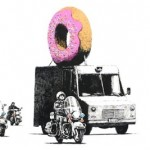 The Donut. Banksy's Environmental Message