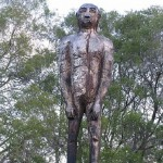 The yowie – the Australian version of a mythic ape-like creature that inhabits remote woods